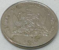 Moneda 2007. 25 Céntimos. Trinidad Y Tobago. KM 32. MBC - Trinidad En Tobago