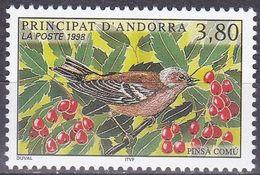 Tr_ Andorra (franz.) 1998 - Mi.Nr. 523 - Postfrisch MNH - Tiere Animals Vögel Birds - Songbirds & Tree Dwellers