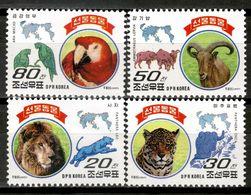 Korea 1997 Corea / Mammals Big Cats Birds MNH Mamiferos Aves Felinos Vögel Säugetiere / Cu16605  18-30 - Non Classificati
