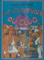 """LA FAMILLE FREUDIPE  """" AU CLUB """" - LECLAIRE - E.O.  FEVRIER 1984  LEROY  ( NUS - NUE - NU - EROTIQUE ) - Non Classés"""