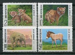 Korea 1998 Corea / Fauna Mammals MNH Mamíferos Säugetiere / Cu16703  18-21 - Non Classificati