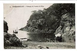 CPA- Carte Postale-France-Porquerolles Calanque De L'Oustaou Dé Diou -1911-VM18627 - Porquerolles