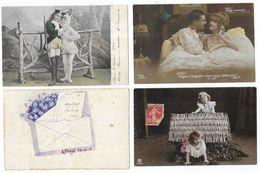 Fantaisies Lot De 300 CPA Fantaisies/Femmes/Enfants/Couples... - 100 - 499 Cartes