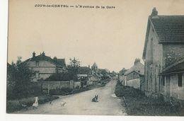 JOUY LE CHATEL  -  L'Avenue De La Gare - Sonstige Gemeinden