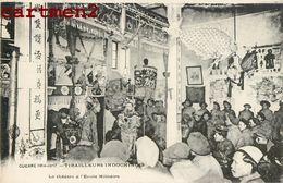 CAMP MILITAIRE INDOCHINOIS LE THEATRE ANNAMITE GUERRE TIRAILLEURS INDOCHINOIS ANGOULEME VIETNAM COLONIALISME TIRAILLEUR - War 1914-18