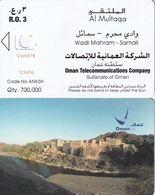 OMAN(chip) - Wadi Mahram-Samail, Orange CN : 12345678, Chip Siemens 35, 04/04, Printing Test Card - Oman