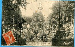 45 - Loiret - Montargis Jardin Du Patis Decore Pour La Fede De La Madelaine (N0857) - Montargis
