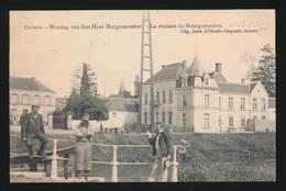 GAVERE  WONING VAN DE HEER BURGEMEESTER  LA MAISON DU BOURGEMESTRE - Gavere