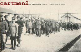 TIRAILLEURS INDOCHINOIS CAMP MILITAIRE D'ANGOULEME LE DEPART POUR LE TRAVAIL VIETNAM ANNAMITE TIRAILLEUR INDOCHINE - Vietnam