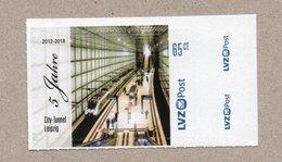 BRD - Privatpost- LVZ - 5 Jahre City-Tunnel Leipzig - S-Bahn Train - Treinen