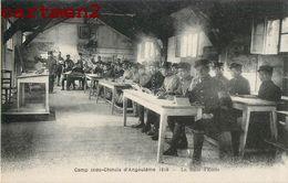 TIRAILLEURS INDOCHINOIS CAMP MILITAIRE INDO-CHINOIS D'ANGOULEME SALLE D'ECOLE VIETNAM ANNAMITE TIRAILLEUR - Angouleme