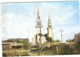 CP Kerlouan Chapelle Eglise Et Calvaire  29 Finistère - Kerlouan