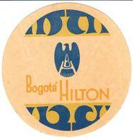 ETIQUETA DE HOTEL   - BOGOTÁ HILTON - Andere Verzamelingen