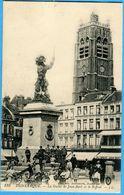 59 -  Nord - Dunkerque La Statue De Jean Bart Et Le Beffroi (N0869) - Dunkerque