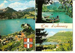 CPSM - LAC D'ANNECY - DUINGT (74) - Annecy
