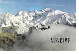 Avion Mont Blanc  Air Cim - Avions