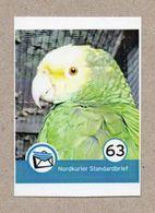BRD - Privatpost - Nordkurier -  Papagei Parrot Loro Papagaio - Papegaaien, Parkieten