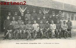 TIRAILLEURS INDOCHINOIS CAMP INDO-CHINOIS D'ANGOULEME PERSONNEL DES CUISINES SOLDATS ANNAMITE TIRAILLEUR GUERRE VIETNAM - War 1914-18