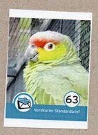 BRD - Privatpost - Nordkurier -  Papagei Parrot Loro Papagaio - Ecuadoramazone (Amazona Autumnalis Lilacina) - Parrots