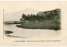 LA MARTINIQUE - RIVIERE Du CARBET Et PITONS VERTS (3 Kil. De St PIERRE) - - Martinique