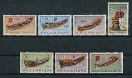 Portugal Mozambique Moçambique 1964 BOAT, BATEAU, Complete Set MNH, FVF - Mozambique
