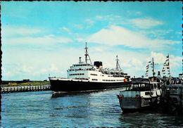 "Bateau FERRY  "" La MALLE""  - OOSTENDE OSTENDE   1950s - Transbordadores"