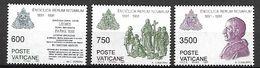 VATICAN     -   1991 .  Y&T N° 903 à 905 **. - Vatican