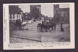 CPA Hippisme Cheval Horse Bretagne Landivisiau Finistère Brest Attelage Non Circulé Guipavas Lesneven - Hípica