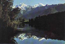 New Zealand, Lake Matheson, South Westland, Unused - Nuova Zelanda