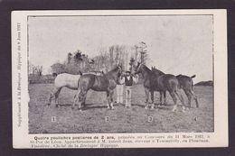 CPA Hippisme Cheval Horse Bretagne Non Circulé Finistère Traonrivily Plouénan - Hípica