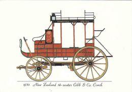 New Zealand, 14-Seater Cobb & Co. Coach - 1870, Otago Early Settlers Museum - Dunedin Unused - Nuova Zelanda