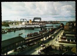 Bateau PAQUEBOT ( Ocean Liner ) Port Hamburg 1950/60s - Paquebote