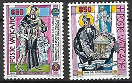 VATICAN     -   1992 .  Y&T N° 924 / 925 (*) . - Vatican