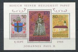 264 - LIECHTENSTEIN 1985 - Yvert BF 15 - Visite Jean Paul II - Neuf ** (MNH) Sans Trace De Charniere - Liechtenstein