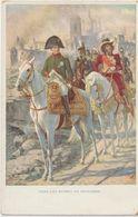 Célébrité :   Napoléon  Bonaparte   Dans Les  Ruines  De  Smolensk - Hommes Politiques & Militaires