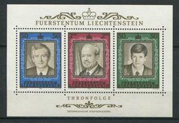 264 - LIECHTENSTEIN 1988 - Yvert BF 16 - Portait De Princes - Neuf ** (MNH) Sans Trace De Charniere - Liechtenstein