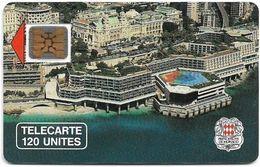 Monaco - MF5 - Palais Des Congres - Cn. 108113 - 03.1990, SC4 GB, 120Units, 10.200ex, Used - Monaco