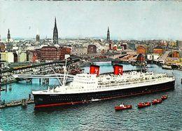 "Bateau PAQUEBOT ( OCEAN  Ship   )  HANSEATIC   ""Hamburg Atlantik Linie"" 1950/60s - Paquebote"