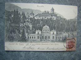 ROUMANIE - SINAIA - VEDEREA MONASTIREI SI BAILE EFORIEI - Roumanie