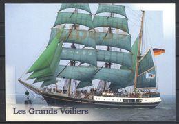 Deutsche Marine, Bark Alexander Von Humboldt, Schulschiff, Ungebraucht - Veleros
