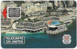 Monaco - MF5B - Palais Des Congres - Cn. 14874 - 03.1990, SC5 SB, 120Units, 10.200ex, Used - Monaco