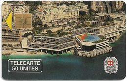 Monaco - MF10 - Palais Des Congres - Cn. A OB905 - 11.1990, Solaic Afnor, 50Units, 20.000ex, Used - Monaco