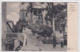 Venezia. Campiello Barbara A S. Gregorio. - Venezia