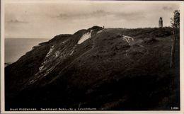 ! Alte Ansichtskarte Insel Hiddensee, Swanewit Schlucht Und Leuchtturm - Hiddensee