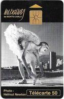 Monaco - MF29 - Ballets - Cn. B43123007, Gem1A Symm. Black, WITH Transp. Moreno, 04.1994, 50Units, 100.000ex, Used - Monaco