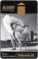 Monaco - MF29 - Ballets - Cn. B43123012, Gem1A Symm. Black, NO Transp. Moreno, 04.1994, 50Units, 100.000ex, Used - Monaco