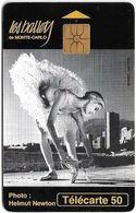 Monaco - MF36 - Ballets - Cn. B55177001, Gem1A Symm. Black, NO Transp. Moreno, 07.1995, 50Units, 25.000ex, Used - Monaco