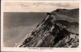 ! Alte Ansichtskarte Insel Hiddensee, Steilküste Im Norden - Hiddensee