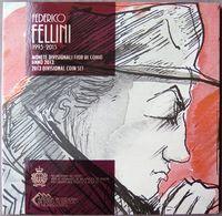 SAX2013.1 - COFFRET BU SAINT MARIN - 2013 - 1 Cent à 5 Euros Federico Fellini - San Marino