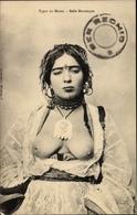 Cp Marokko, Belle Mauresque, Maurin, Barbusig - Cartes Postales